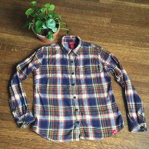 NWOT Flannel Plaid Shirt